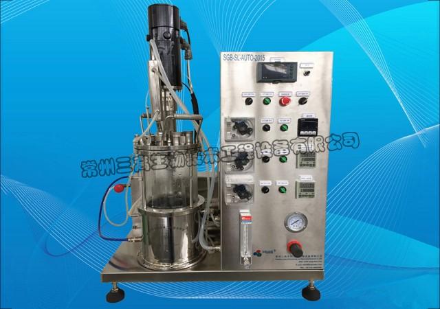 5L玻璃发酵罐(仪表显示)